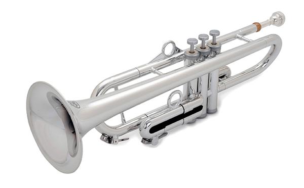 pInstruments pTrumpet hyTech Silver 【プラスチック製 トランペット】