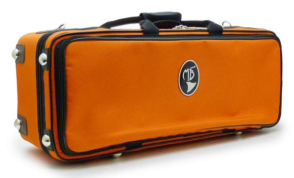 MB ダブルトランペット用ケース(オレンジ) MB02