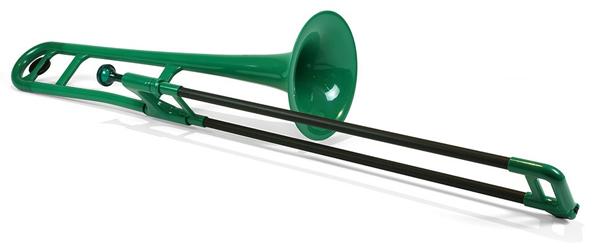 店頭展示品特価 pInstruments pBone ピー ボーン 激安超特価 グリーン プラスチック製 GREEN 買い取り トロンボーン
