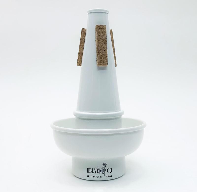 Ullven カップミュート  アルミ / White  【トランペット用】