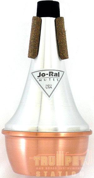 Jo-Ralストレートミュート コパーボトム TPT-1C【トランペット用】