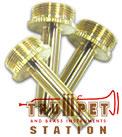 buzz セール 登場から人気沸騰 YAMAHA 今季も再入荷 トランペット用真鍮製バルブステム 3個セット