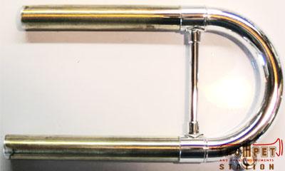 Mike Bulow バック Bb管トランペット用カスタムメインチューニングスライド