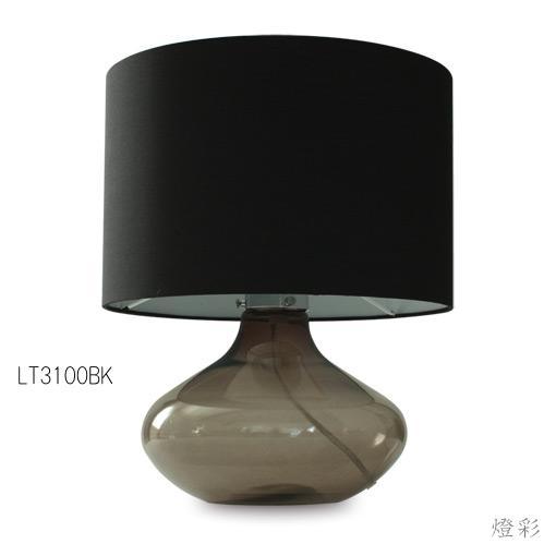 DI CLASSE ディクラッセ テーブルライト 間接照明 置き型照明 ガラス 布 ファブリック くろ 黒 ブラック black 和風 和室 おしゃれ きれい かわいい LT3100BK