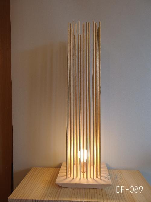 Flames フレイムス フレイムスカド フロアライト 洋室 和室 和風 和洋折衷 照明 間接照明 木 おしゃれ かわいい きれい DF-089