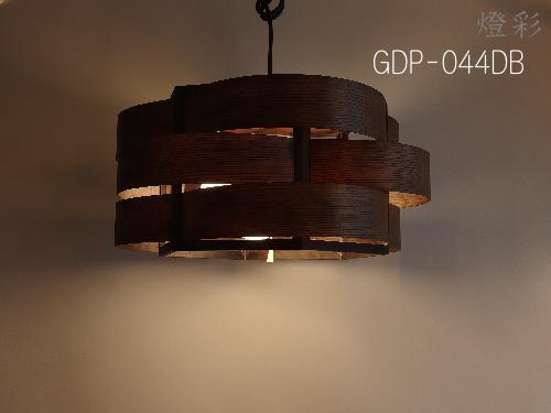 Flames フレイムス フレイムスキリュウウエーブ ペンダントライト 照明 和室 和風 木 白木 茶色 ブラウン brown ダークブラウン darkbrown きれい おしゃれ かわいい モダン GDP-044DB
