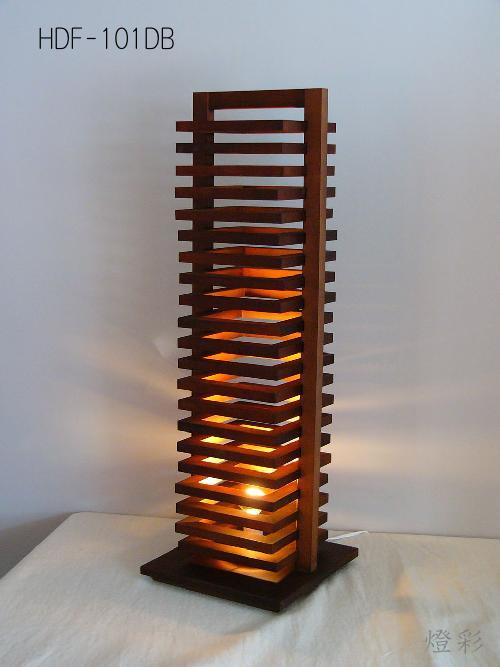 Flames フレイムス フレイムスヒキダシフロアスタンド スタンドライト 和室 洋室 和洋折衷 和風 木 白木 引き出し ダークブラウン インテリア 照明 おしゃれ かわいい きれい HDF-201