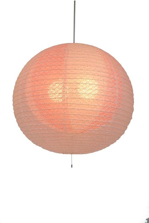 彩光デザイン 和紙 ペンダントライト 照明 二重提灯 3灯 梅 小梅 しろ 白 ホワイト white ローズ rose SPN3-1102 小梅白 in ローズ