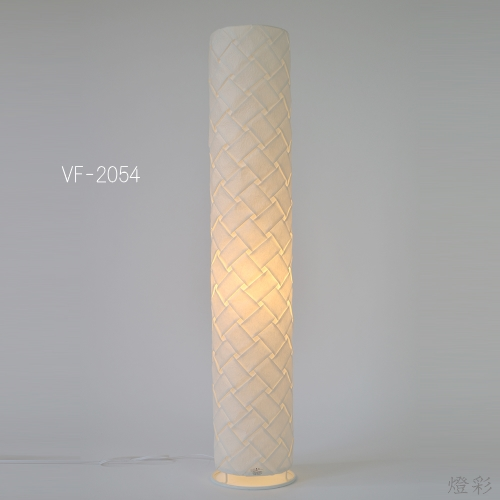 彩光デザイン 和紙 照明 フロアライト しろ 白 ホワイト white 手織り おしゃれ きれい かわいい VF-2054 織姫
