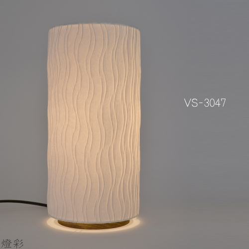 彩光デザイン 和紙 照明 テーブルランプ しろ 白 ホワイト white 手織り おしゃれ きれい かわいい VS-3047 舞姫