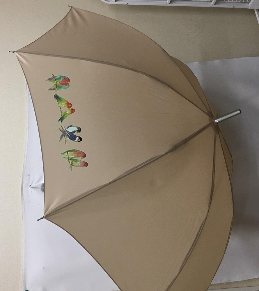 プレゼントに最適 セール価格 長く使える丈夫な長傘 強風に強く壊れにくい 高品質グラスファイバー ワンタッチ式 ジャンプ式 ラッピング無料 ギフトにも人気 鳥 インコ バード2 鳥グッズ 傘 レイングッズ UVカット 65cm レディース 耐風 男女兼用 風に強い 直径110cm 雨傘 かわいい 梅雨 おしゃれ 超定番 メンズ