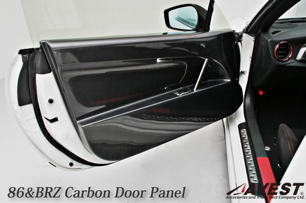 86 Brz Inner Door Panel Carbon Avest Ae86 Zn6 Interior Replacement Car