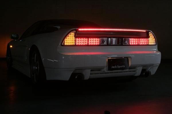 NSX 尾巴 LED 尾燈後方設置主模型限量版本田本田樂天打扮