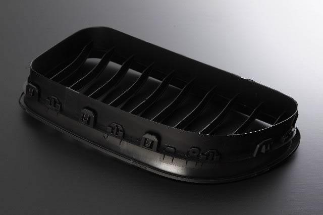 BMW 6系列烤爐F12 F13 06 11-UP 6墊子黑色腎烤爐[前面的車用品汽車用品特別定做定製零件零部件]