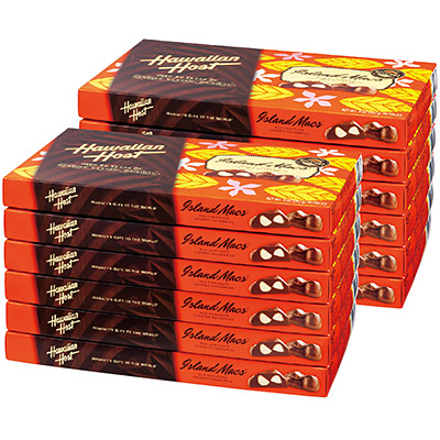 [Hawaiian gifts, Hawaiian host macadamia nut chocolate 12 boxes ...