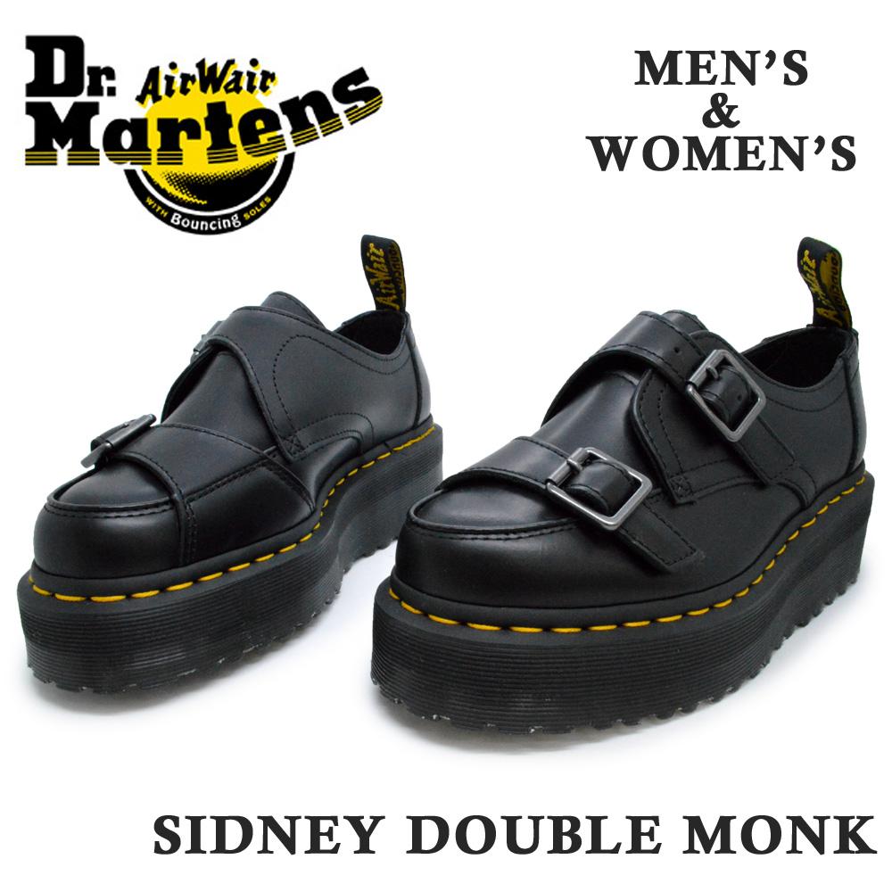 ドクターマーチン 国内正規品 Dr.Martens SIDNEY DOUBLE MONK シドニー モンク 厚底 ベルト ダブル メンズ 卸直営 超激安 26207001 レディース