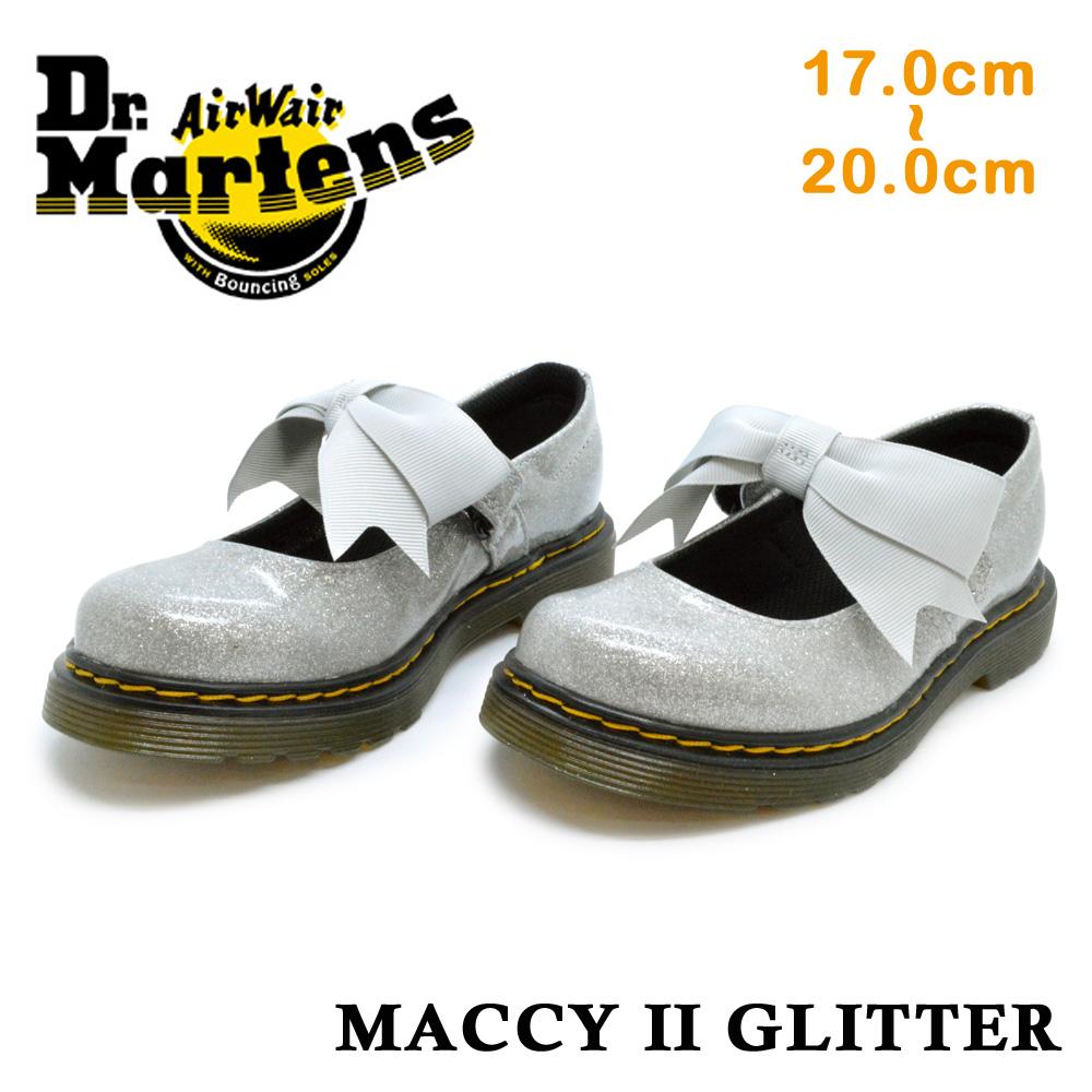 【スーパーセール】 ドクターマーチン 国内正規品 Dr.Martens MACCY 2 GLITTER マッキー ツー グリッター 8065 JUNIOR キッズ ジュニア 子供靴 フォーマル 25113040