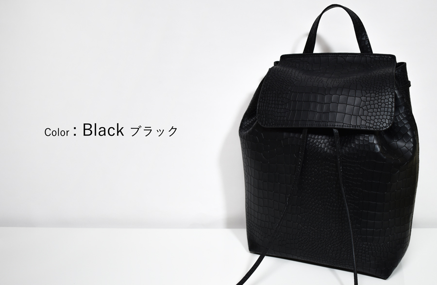 a2d2865d91cd ★ leather resacrocoluc stylish backpack bag accessory gadgets ladies bag  backpack daypack leather leather Croc-push-style adult mass triad