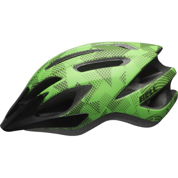 【キャッシュレス5%還元対象店】BELL(ベル) 子供用ヘルメット クレストジュニア ライム/クリプトナイト UYサイズ