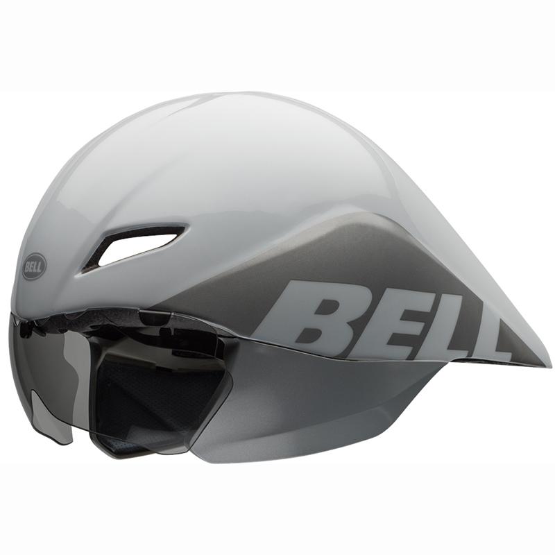 送料無料 BELL(ベル) レース JAVELIN ジャベリン ホワイト/シルバー L