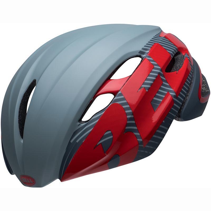 送料無料 BELL(ベル) ヘルメット ロードレース Z20 エアロ ミップス グレー/クリムゾン L 19