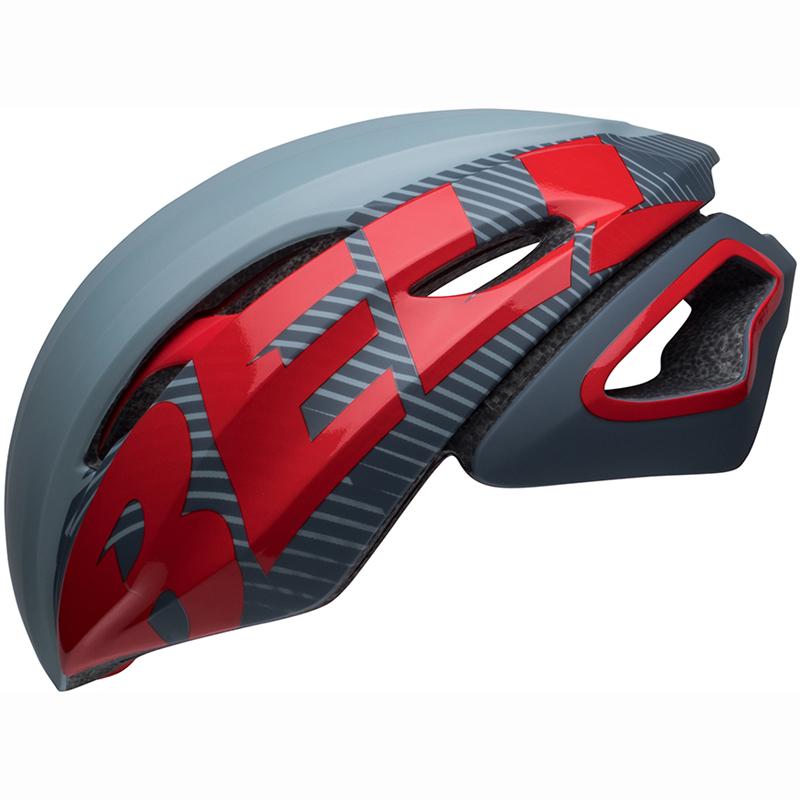 送料無料 BELL(ベル) ヘルメット ロードレース Z20 エアロ ミップス グレー/クリムゾン M 19