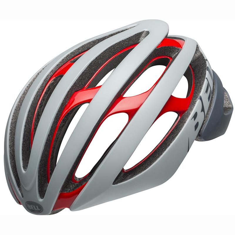 送料無料 BELL(ベル) ヘルメット ロードレース Z20 ミップス グレー/クリムゾン M 19