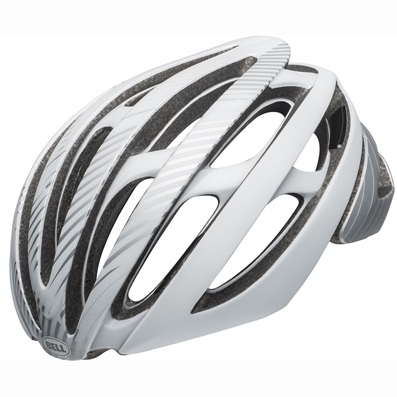 送料無料 BELL(ベル) ヘルメット ロードレース Z20 ミップス シルバー/ホワイト L 19