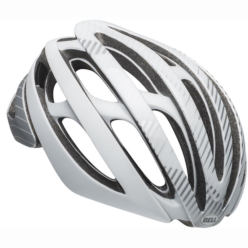 【キャッシュレス5%還元対象店】送料無料 BELL(ベル) ヘルメット ロードレース Z20 ミップス シルバー/ホワイト M 19