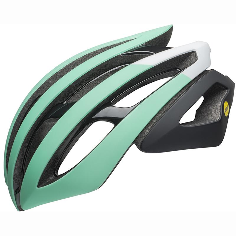 送料無料 BELL(ベル) ヘルメット ロードレース Z20 ミップス ブラック/ホワイト/ミント M 19