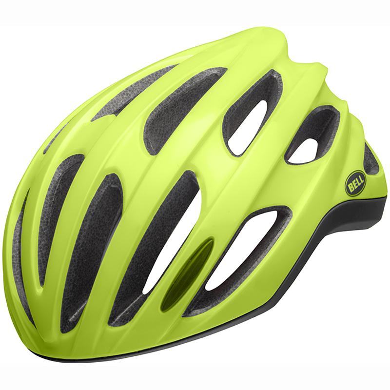 送料無料 BELL(ベル) ヘルメット ロードレース フォーミュラ LED ミップス マットグリーン L 19