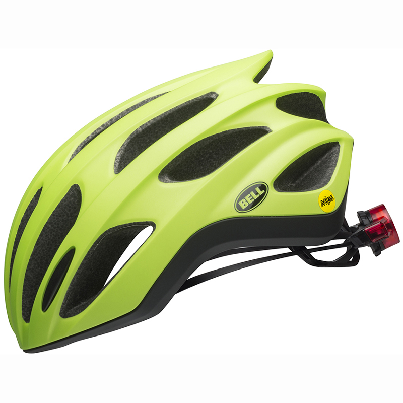送料無料 BELL(ベル) ヘルメット ロードレース フォーミュラ LED ミップス マットグリーン M 19