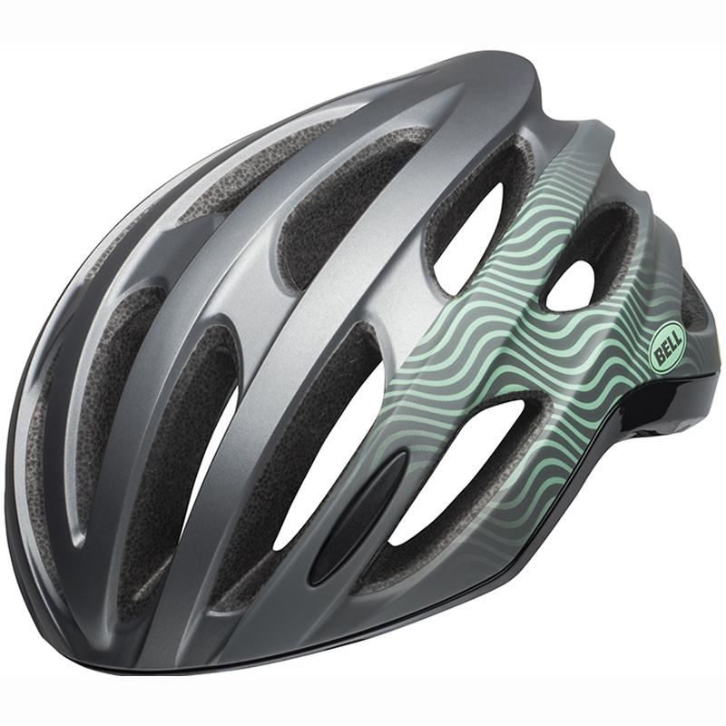 送料無料 BELL(ベル) ヘルメット ロードレース フォーミュラ ミップス グロスガンメタル/ミント/ブラック L 19
