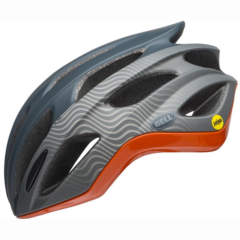 送料無料 BELL(ベル) ヘルメット ロードレース フォーミュラ ミップス スレート/グレー/オレンジ M 19