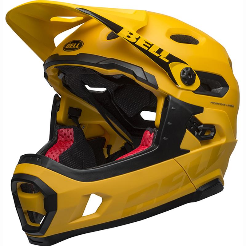 送料無料 BELL(ベル) ヘルメット マウンテンバイク スーパー DH ミップス イエロー/ブラック L 19