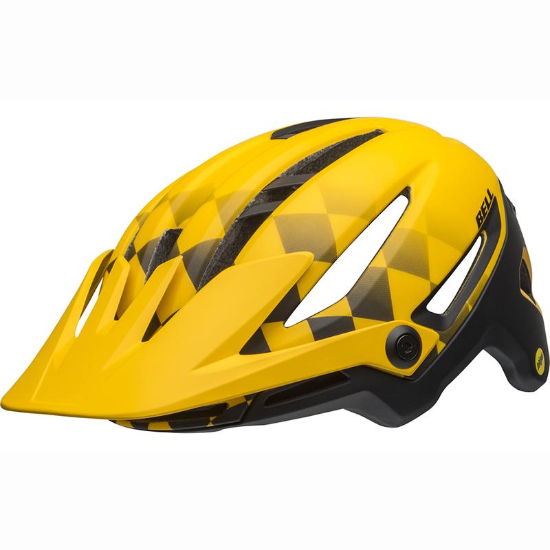 送料無料 BELL(ベル) ヘルメット マウンテンバイク シクサー ミップス マット イエロー/ブラック L 19