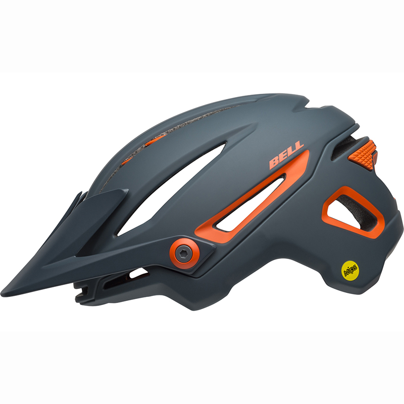 送料無料 BELL(ベル) ヘルメット マウンテンバイク シクサー ミップス マット スレート/オレンジ L 19