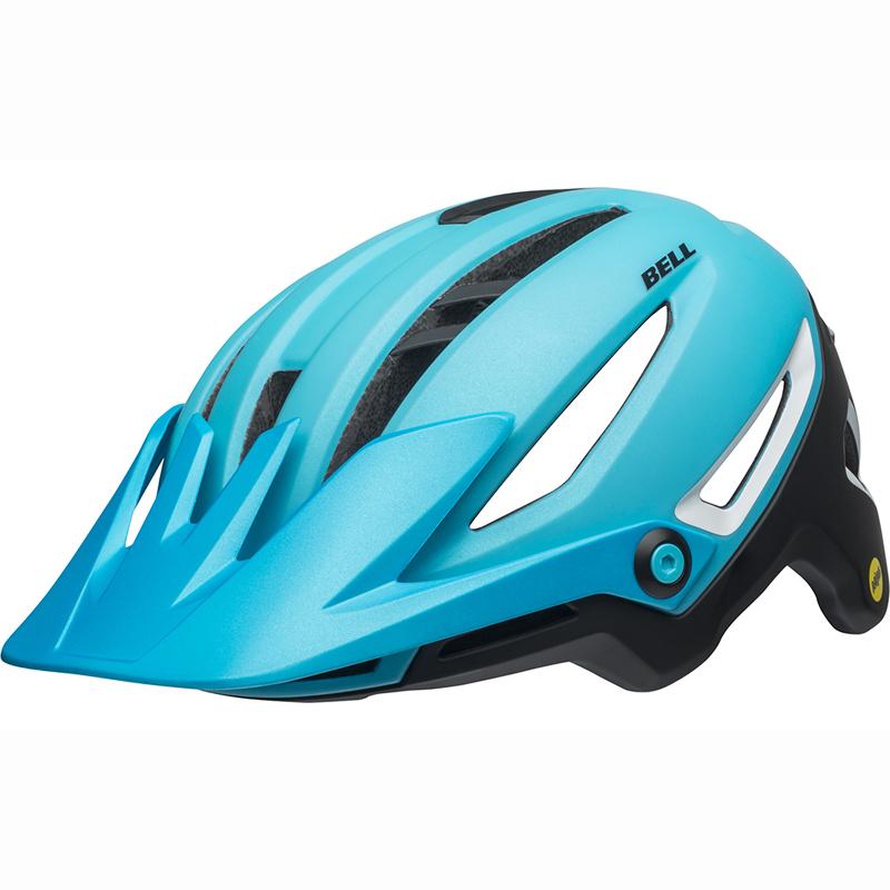 送料無料 BELL(ベル) ヘルメット マウンテンバイク シクサー ミップス マット ブライトブルー/ブラック L 19
