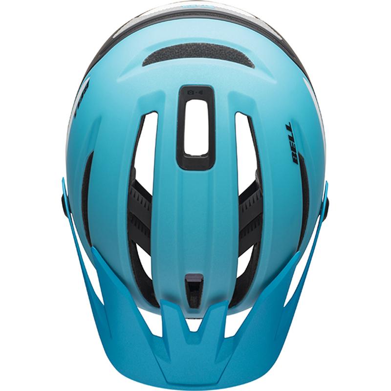送料無料 BELL(ベル) ヘルメット マウンテンバイク シクサー ミップス マット ブライトブルー/ブラック M 19