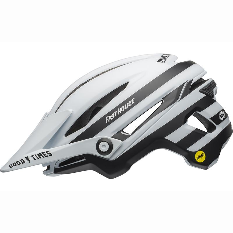 送料無料 BELL(ベル) ヘルメット マウンテンバイク シクサー ミップス マット ホワイト/ブラック ファストハウス L 19