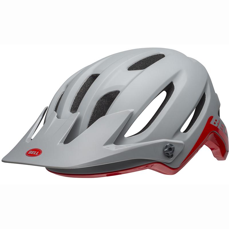 【お年玉セール特価】 送料無料 ミップス 4フォーティー BELL(ベル) ヘルメット マウンテンバイク 4フォーティー ミップス グレー/クリムゾン L L 19, ワントラスト:110b9bdf --- ges.me