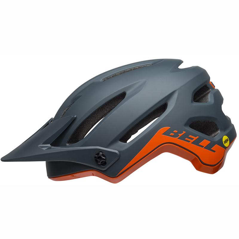 送料無料 BELL(ベル) ヘルメット マウンテンバイク 4フォーティー ミップス スレート/オレンジ L 19
