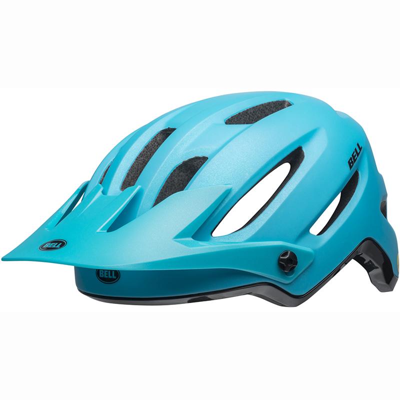 送料無料 BELL(ベル) ヘルメット マウンテンバイク 4フォーティー ミップス ブライトブルー/ブラック L 19