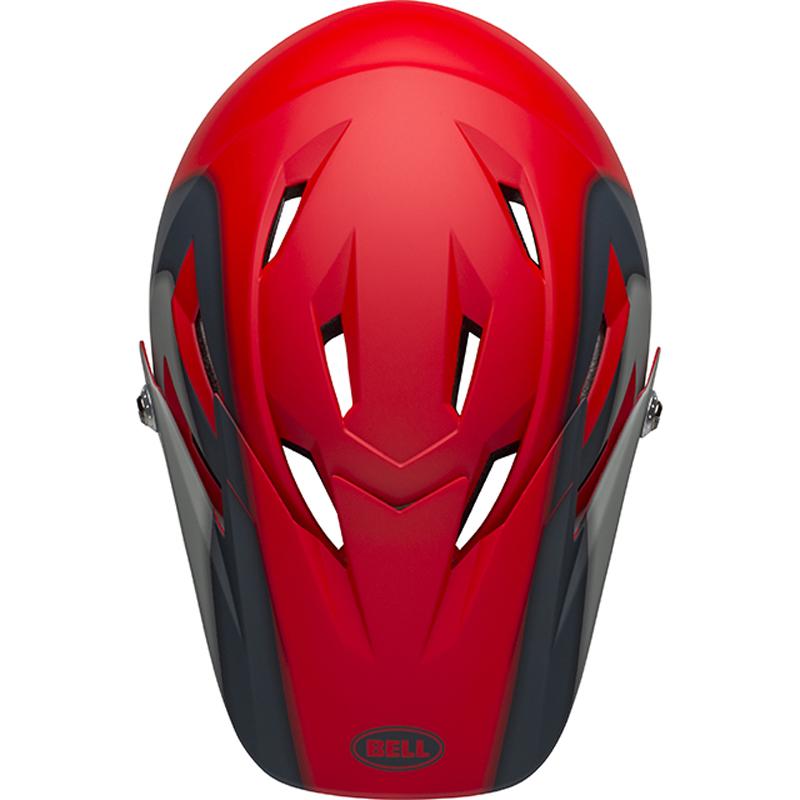 送料無料 BELL(ベル) ヘルメット マウンテンバイク サンクション マット クリムゾン/スレート/グレー S 19