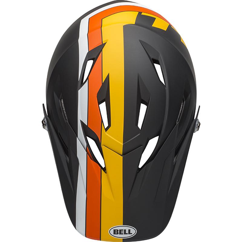 送料無料 BELL(ベル) ヘルメット マウンテンバイク サンクション マット ブラック/イエロー/オレンジ L 19