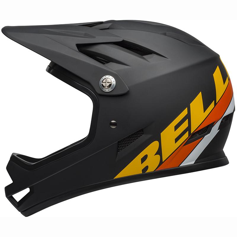 送料無料 BELL(ベル) ヘルメット マウンテンバイク サンクション マット ブラック/イエロー/オレンジ S 19