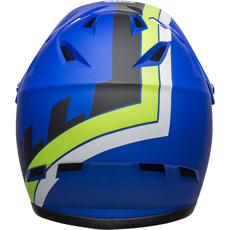 送料無料 BELL(ベル) ヘルメット マウンテンバイク サンクション マット ブルー/ブライトグリーン S 19