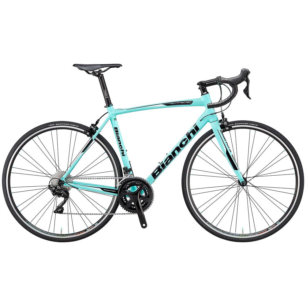 即納可能 送料無料 BIANCHI(ビアンキ) ロードバイク VIA NIRONE 105 55 CK16 【2019年モデル】【完全組立済自転車】【北海道、九州、沖縄、離島は送料別】