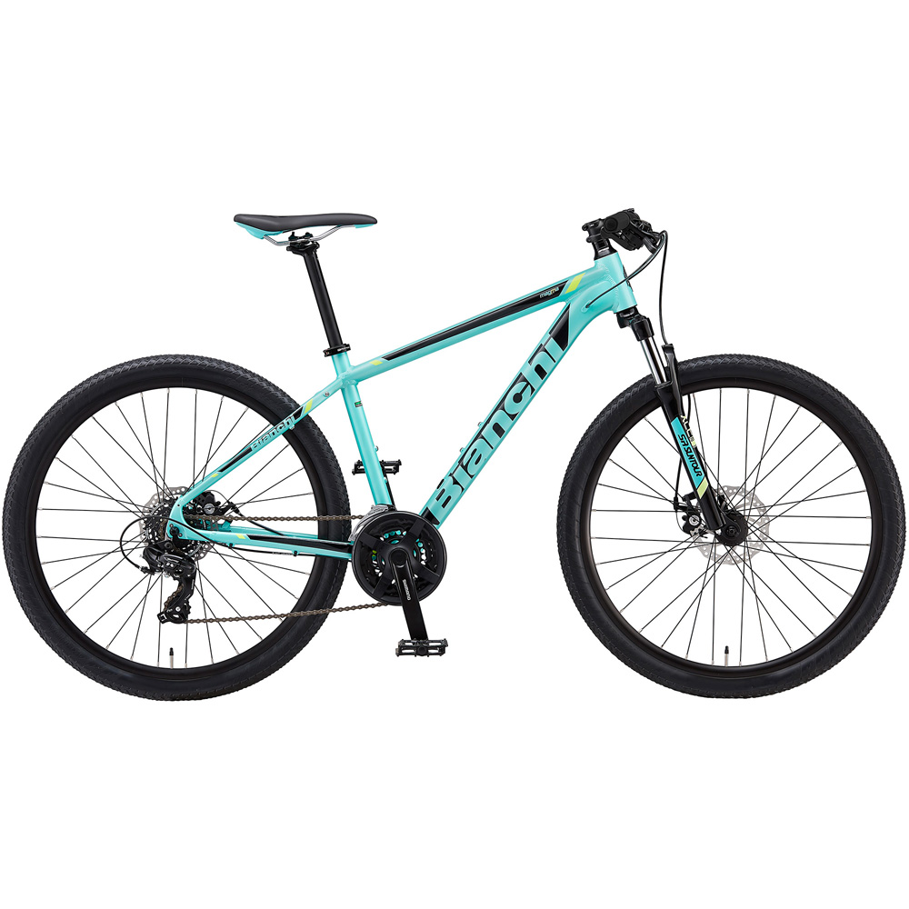 即納可能 送料無料 BIANCHI(ビアンキ) マウンテンバイク MAGMA 27.0 ALTUS 43 CK16/BLACK/YELLOW 【2019年モデル】【完全組立済自転車】【北海道、九州、沖縄、離島は送料別】