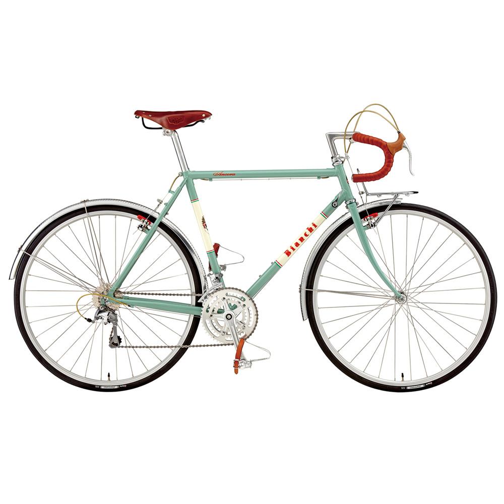 【年明けのお届け予定となります】 【キャッシュレス5%還元対象店】【即納可能】送料無料 BIANCHI(ビアンキ) ツーリング ANCORA TIAGRA Celeste Classico 54 【2019年モデル】【完全組立済自転車】